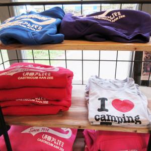 t-shirts bedrukken camping bakkum